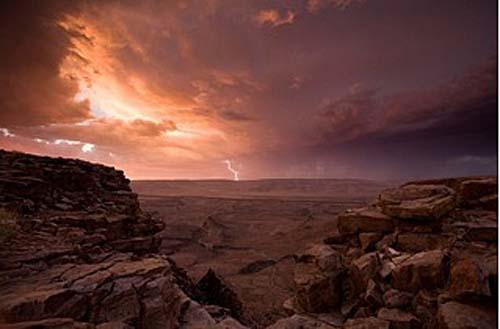African Lightning Storm